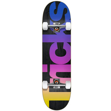Tricks Skateboards Multicolour Mid Complete Skateboard 7.25
