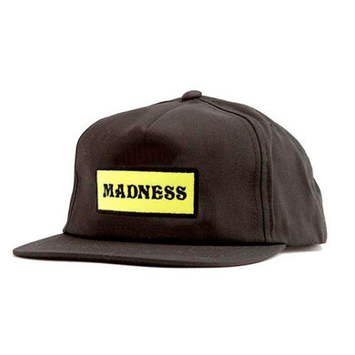Madness Skateboards Mad Bar Black Cap
