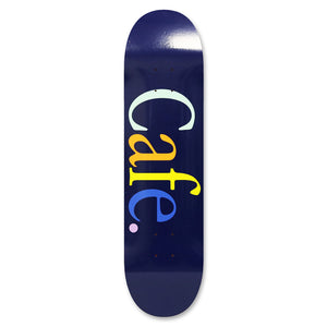 Skateboard Cafe Wayne Navy Skateboard Deck 8.38""