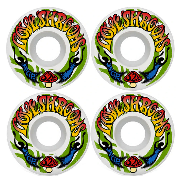 Flip Skateboards Cutback Loveshroom Skateboard Wheels 99a 52mm