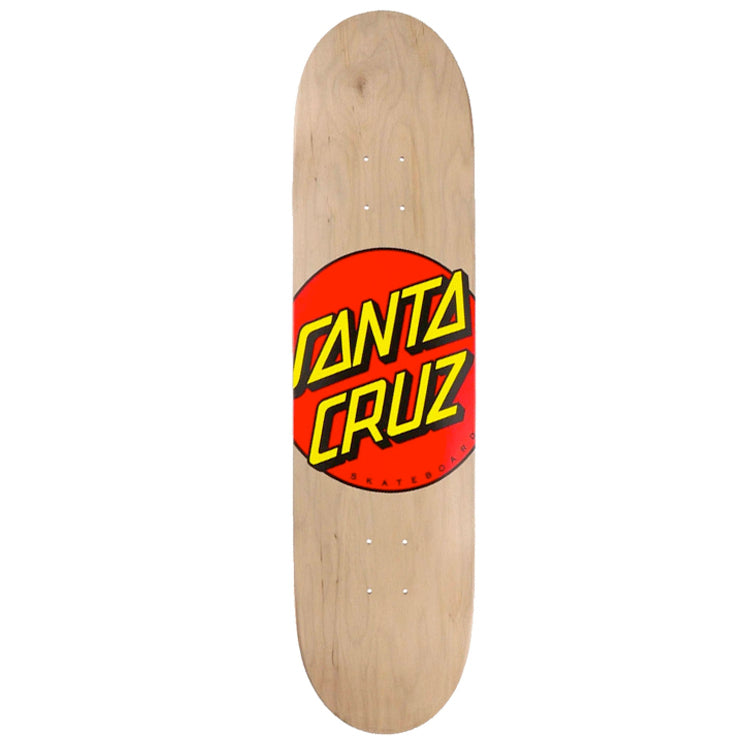 Santa Cruz Classic Dot Skateboard Deck 8.38