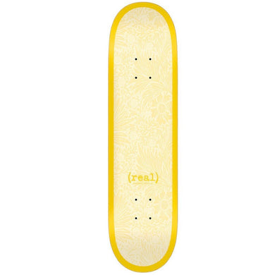 Real Skateboards Flowers Renewal Skateboard Deck 8.38