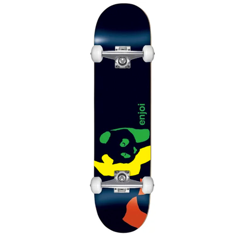 Enjoi Skateboards Rasta Panda Mini Complete Skateboard 7