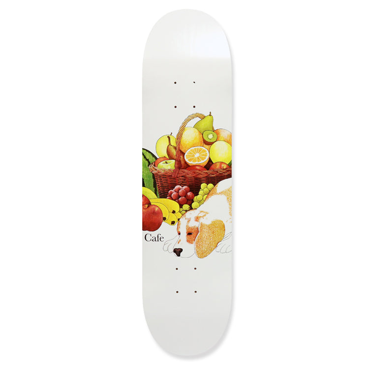 Skateboard Cafe Healthy White Skateboard Deck 8.125