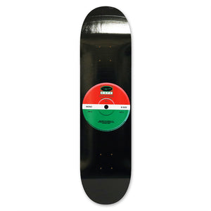 "Skateboard Cafe 45"" Red/Green Skateboard Deck 8"""