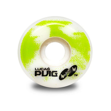 Wayward Wheels Pro Formula Lucas Puig Funnel Cut Skateboard Wheels 101a 52mm