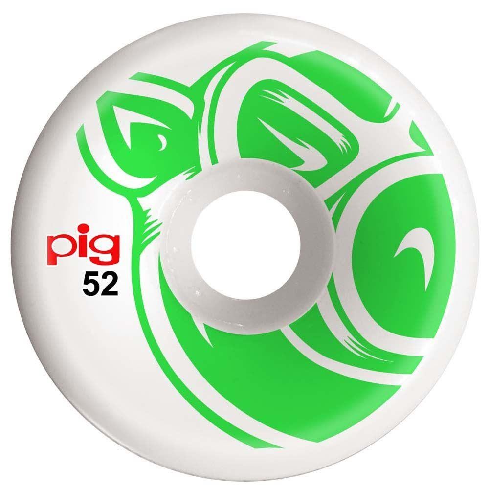 Pig Wheels Pig Head Conical Skateboard Wheels 101a 52mm