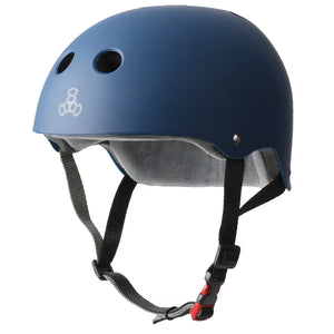 Triple 8 Brainsaver Dual Certified Helmet Blue L/XL