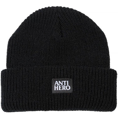 Anti Hero Basic Cuff Beanie Lil Black Hero Black