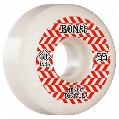 Bones Wheels Patterns Sidecuts STF V5 Skateboard Wheels 103a 55mm