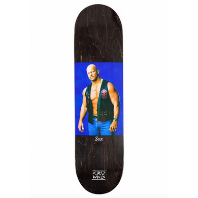 Carve Wicked Sox Stoned Cold Skateboard Deck 8