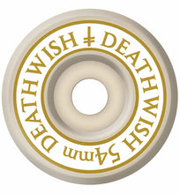Deathwish Skateboards Divine Conical White Skateboard Wheels 101a 54mm