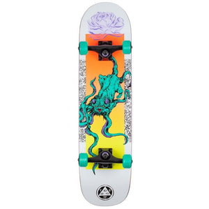 Welcome Skateboards Bactocat Complete on Bunyip Complete Skateboard 8""