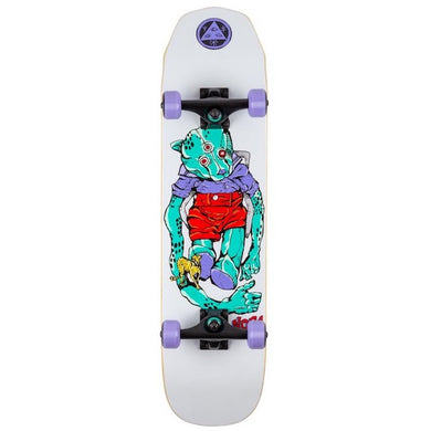 Welcome Skateboards Teddy Complete on Scaled Down Wicked Princess Complete Skateboard 7.75