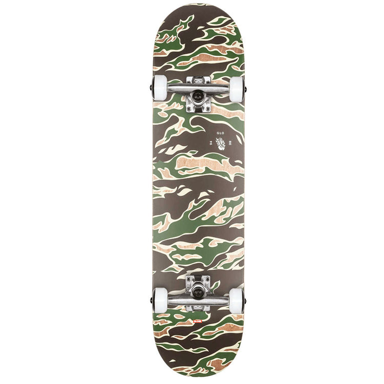 Globe G1 Full On Tiger Camo Complete Skateboard 8