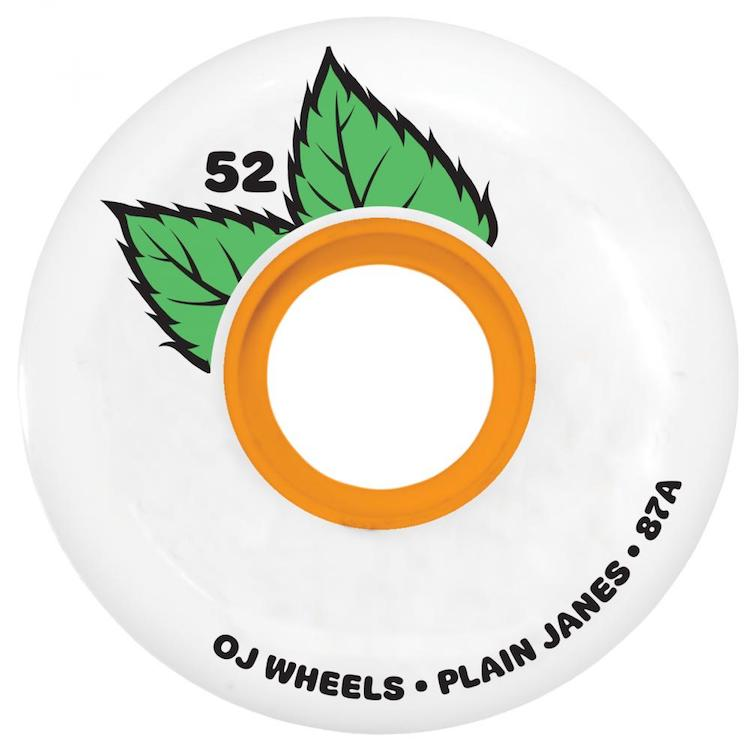OJ Wheels Plain Jane Keyframe Skateboard Wheels 87a 52mm