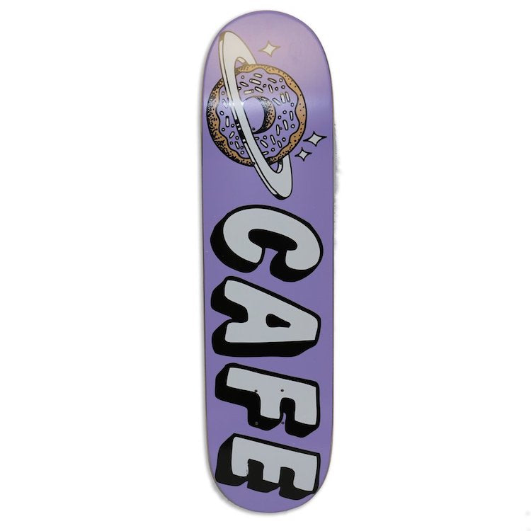 Skateboard Cafe Planet Donut Lavender Skateboard Deck 7.75