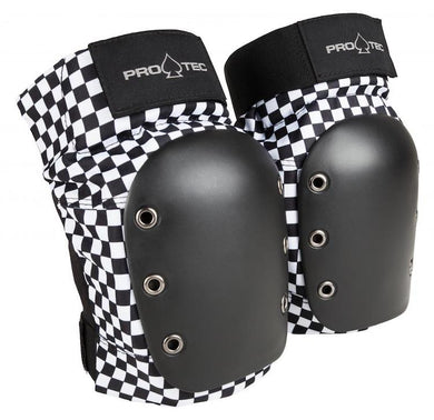 Pro-Tec Adult Street Knee Pads Black/White Checker
