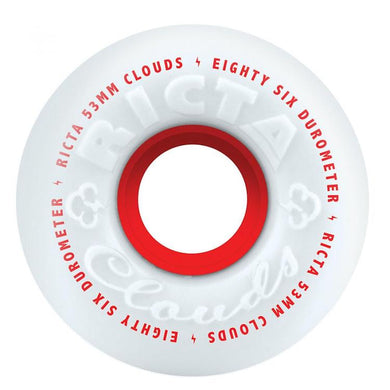 Ricta Wheels Clouds Skateboard Wheels 86a 53mm