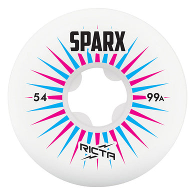 Ricta Wheels Sparx Skateboard Wheels 99a 52mm