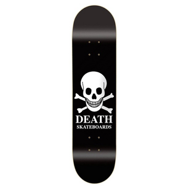 Death Skateboards Skull Skateboard Deck 8.75