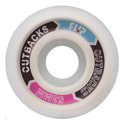 Flip Skateboards Cutbacks Skateboard Wheels 99a 53mm