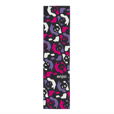 Enjoi Skateboards Repeater Griptape Sheet Black/Multi 9