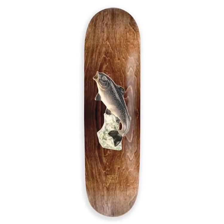 Passport Trout Skateboard Deck 8.6