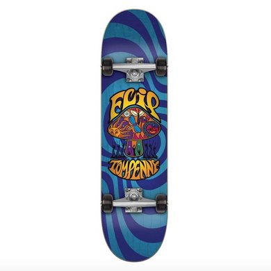 Flip Skateboards Tom Penny Loveshroom Blue Complete Skateboard 8