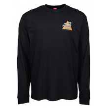 Santa Cruz Not A Dot L/S T-Shirt Black