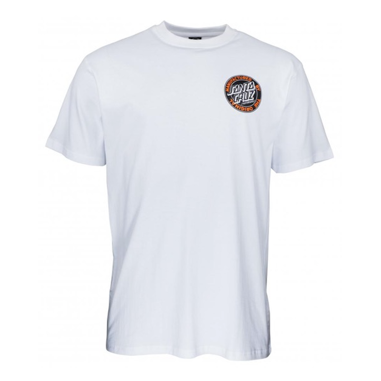 Santa Cruz MFG Dot T-Shirt White