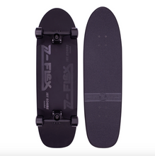 Z-Flex Shadow Lurker Pool Complete Skateboard Cruiser 9.5""