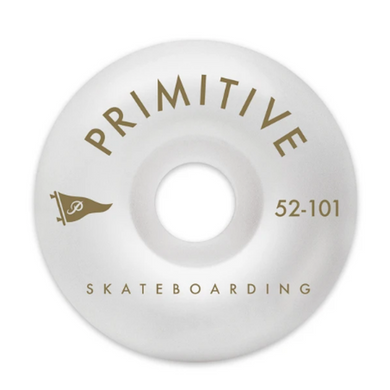 Primitive Skateboarding Pennant Arch Team Skateboard Wheels 101a 52mm