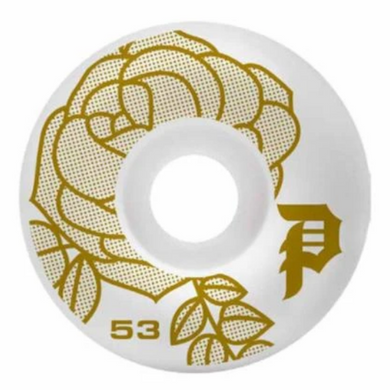 Primitive Skateboarding Rosa Team Skateboard Wheels 101a 53mm