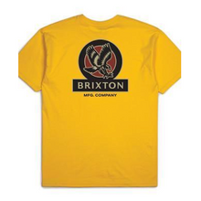 Brixton Reach S/S Standard T-Shirt Athletic Gold