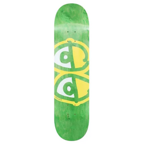 Krooked Skateboards Team Eyes Yellow Skateboard Deck 8.06""
