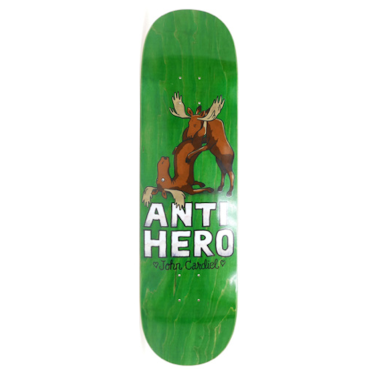 Anti Hero Skateboards Cardiel Lovers II Skateboard Deck 8.25
