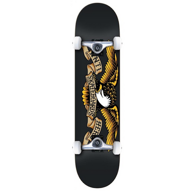 Anti-Hero Team Eagle Complete Skateboard Black 8.25