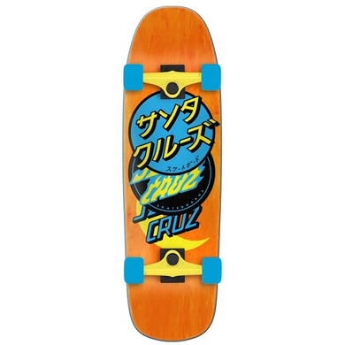 Santa Cruz Group Dot 80's Cruiser Complete Skateboard 9.51
