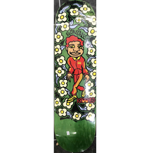 Krooked Skateboards Gonz Sweatpants (Green Woodstain) Skateboard Deck 8.5""