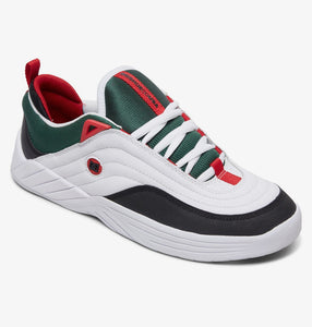 DC Shoes Williams Slim White/Black/Athletic Red Shoes
