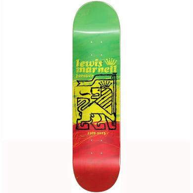 Almost Skateboards Lewis Marnell Painted Lion R7 Skateboard Deck 8''