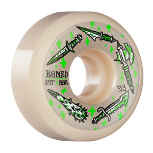 Bones Wheels Dark Days V5 Sidecut STF Skateboard Wheels 99a 53mm
