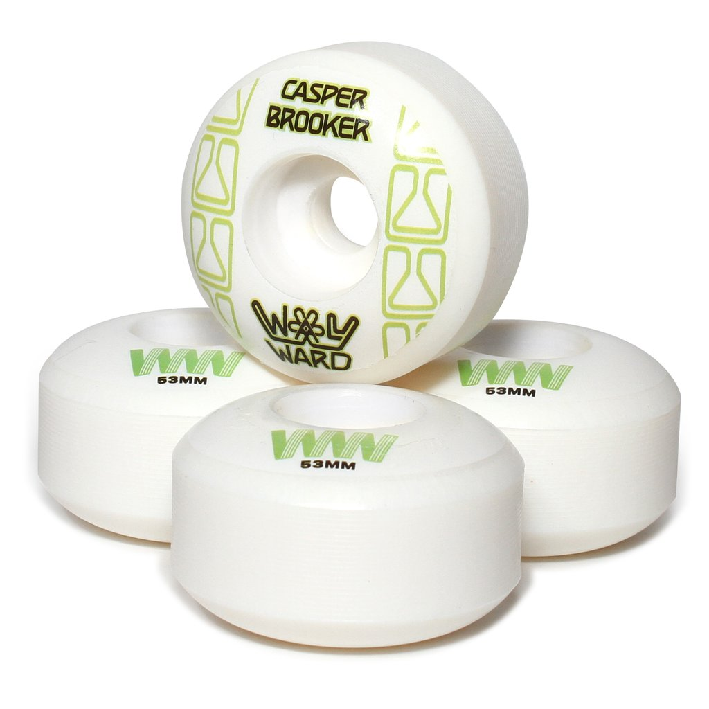 Wayward Wheels Pro Formula Casper Brooker Funnel Cut Skateboard Wheels 101a 53mm