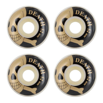 Death Skateboards OG Skull Skateboard Wheels 101a 52mm