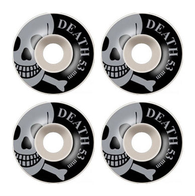 Death Skateboards OG Skull Skateboard Wheels 101a 53mm