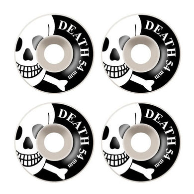 Death Skateboards OG Skull Skateboard Wheels 101a 54mm