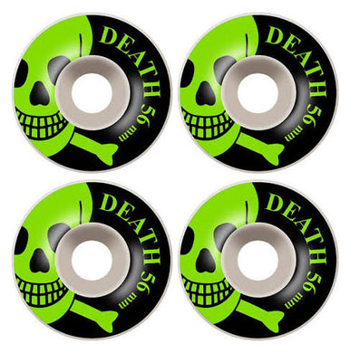 Death Skateboards OG Skull Skateboard Wheels 101a 56mm