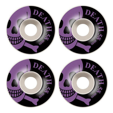 Death Skateboards OG Skull Skateboard Wheels 101a 58mm