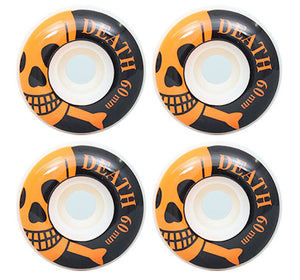 Death Skateboards OG Skull Skateboard Wheels 101a 60mm